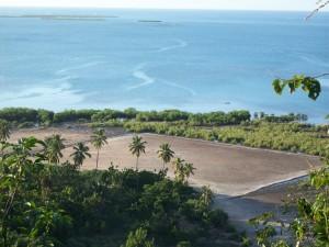 Corail et son terrain de footbal